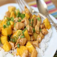 145. Chicken with Pineapples