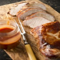160. Roast Pork in BBQ Sauce