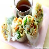 6. Vegetarian Spring Roll ( 10 )