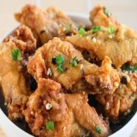 14. Salt & Pepper chili chicken