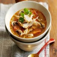 32. Spicy Thai Chicken Soup