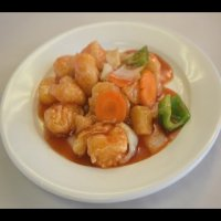 38. Sweet & Sour King Prawn ( Hong Kong Style )