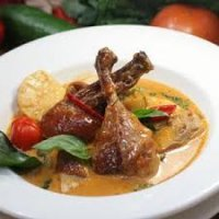 40. Roast Duck Curry