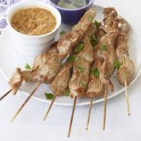 51. Roast Pork Satay