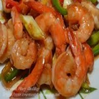 74. King Prawns in Oyster Sauce