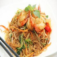 79. King Prawns with Beansprouts