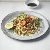 80. King Prawns with Ginger & Spring Onion