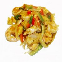 81. King Prawns in Yellow Bean Sauce