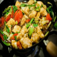 98. Chicken with Ginger & Spring Onions