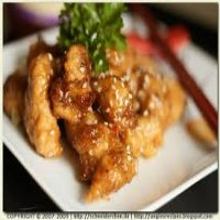 104. Chicken in Plum Sauce