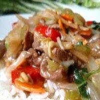 111. Beef Chop Suey