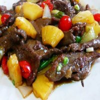 114. Beef & Pineapple