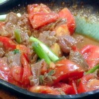 115. Beef with Tomatoes
