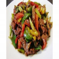 124. Roast Duck with Green Peppers in Black Bean Sauce