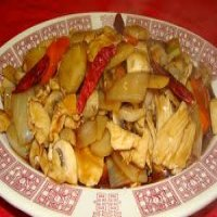 130. Roast Duck with Bamboo Shoots & Water chestnuts