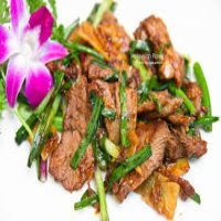 135. Roast Duck with Ginger & Spring Onions