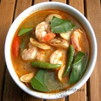 162. Thai Dom Yum King Prawns