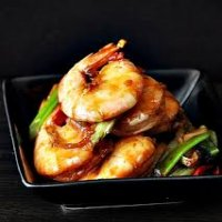 166. Thai Sweet & Chili King prawns