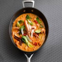 170. Thai Red Curry King Prawns