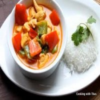 172. Thai Red Curry Chicken