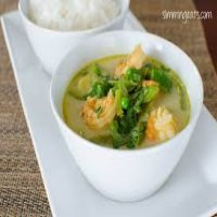 176. Thai Green Curry King Prawns