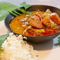 184. Masaman Curry Chicken