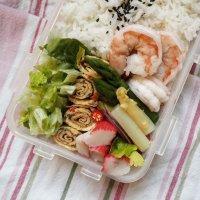198. Shrimp Omelette