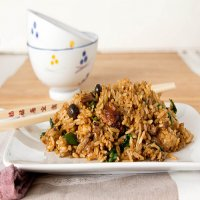 205. Roast Duck Fried Rice