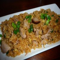 209. Roast Pork Fried Rice
