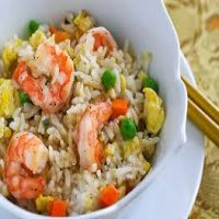 210. Shrimps Fried Rice