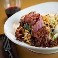 218. Roast Duck Chow Mein ( BBQ Sauce )