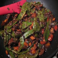 226. Vegetables with black bean sauce