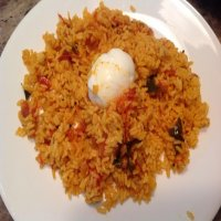 2210. Boiled Rice, Chips & Gravy