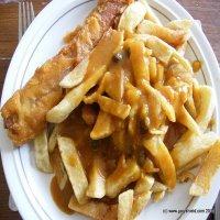 2216. Sausage, Chips & Gravy