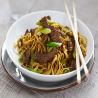 172. Beef Chow Mein
