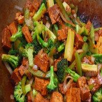 0809. Bean Curd With Broccoli
