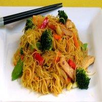 0821. Vegetarian Singapore Vermicelli