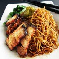0703. BBQ Pork Fried Noodles