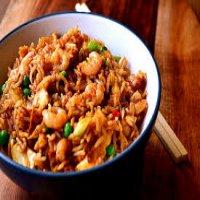 0607. Singapore Fried Rice
