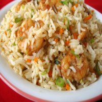3. Fried Rice with prawn