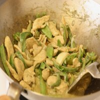13. Stir Fried Thai Green Curry