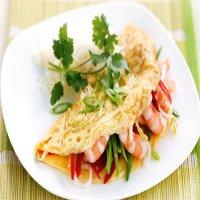 183. Prawn Omelette