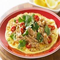 184. Chicken Omelette
