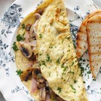 185. Mushroom Omelette